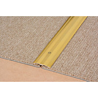 Vitrex Carpet Cover Strip Gold 0.9m (L)