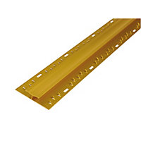 Vitrex Carpet to Carpet Gold Cover Strip 0.9m (L)
