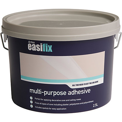 Image for Artex Easifix Ready Mixed Multi-Purpose Adhesive - 2.5L from StoreName