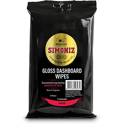 Image for Simoniz Gloss Dashboard Wipes from StoreName