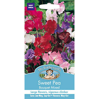 Image for Sweet Pea Bouquet Mixed (Lathyrus Odoratus) Seeds from StoreName