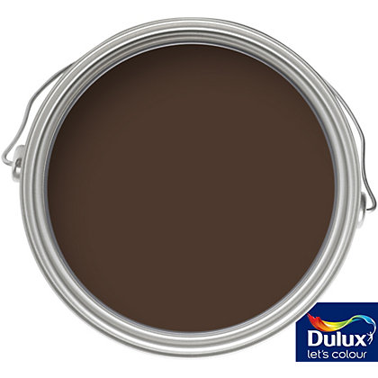 Image for Dulux Weathershield Conker - Exterior Gloss Paint - 750ml from StoreName