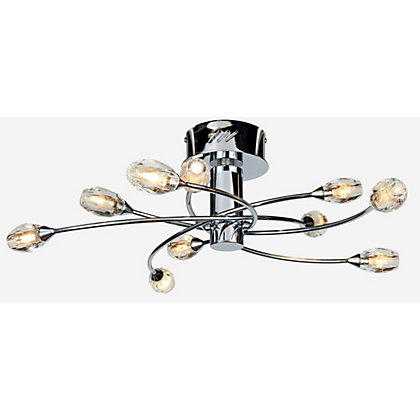 Image for Maxwell Chrome Ceiling Light from StoreName