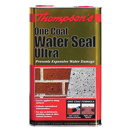 Image for Thompsons Clear One Coat Water Seal Ultra - 5L from StoreName