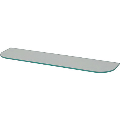 Image for Duraline Glass Shelf Rounded - 60cm from StoreName