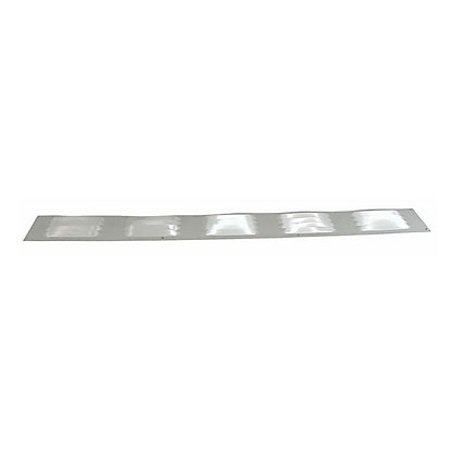 Image for Louvre Vent - 76 x 610mm - Satin Silver Aluminium from StoreName