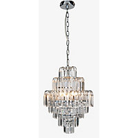 Hilton Chandelier - Chrome