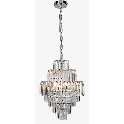 Image for Hilton Chandelier - Chrome from StoreName