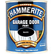 Hammerite Black - Gloss Garage Door Paint - 750ml