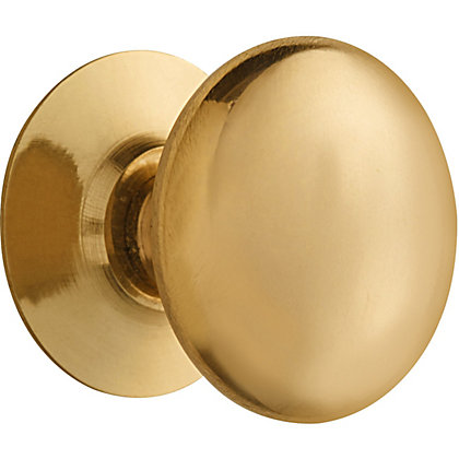 Image for Victorian Cupboard Knob - Brass from StoreName