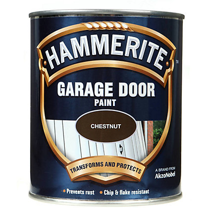 Image for Hammerite Chestnut - Garage Door Enamel Exterior Paint - 750ml from StoreName