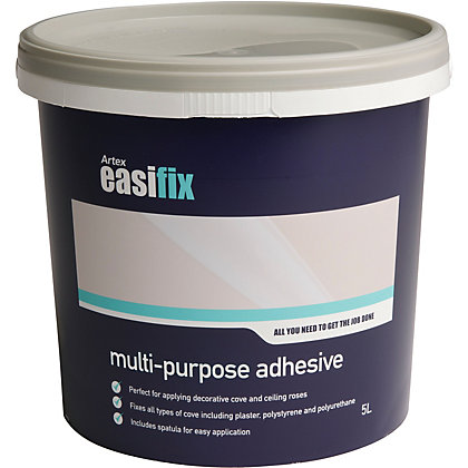 Image for Artex Easifix Ready Mixed Multi-Purpose Adhesive - 5L from StoreName