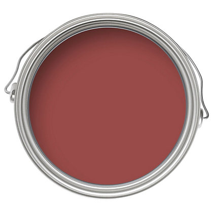 Image for Home of Colour Moroccan Red - Silk Emulsion Paint - 2.5L from StoreName