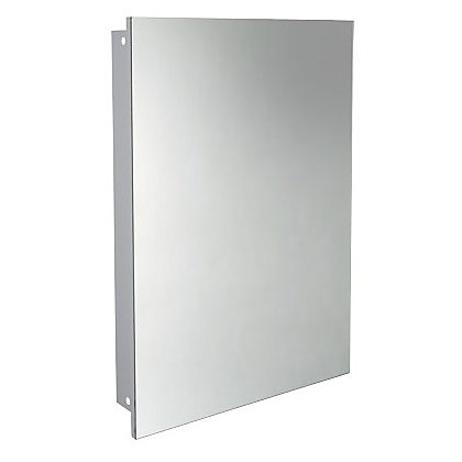 Taylor & Brown® White Maine Single Mirrored Door Bathroom Cabinet: blogger.com: Kitchen & Home