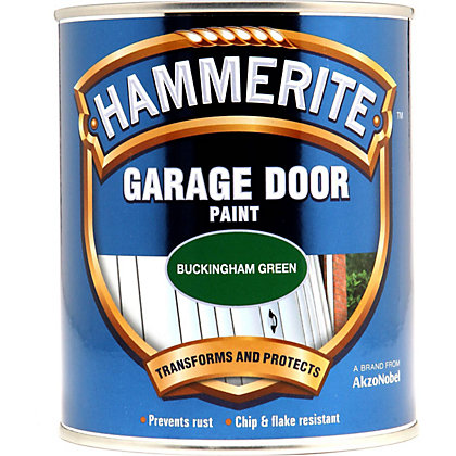 Image for Hammerite Buckingham Green - Garage Door Enamel Exterior Paint - 750ml from StoreName