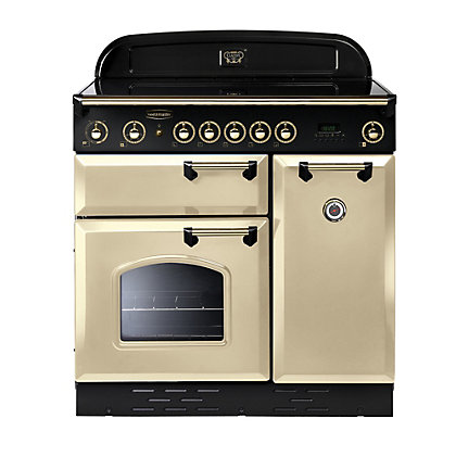 Image for Rangemaster Classic 8765 90cm Electric Induction Cooker - Cream from StoreName