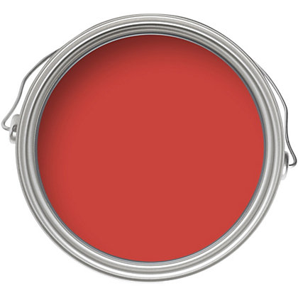 Image for Home of Colour Flame - Silk Emulsion Paint - 2.5L from StoreName
