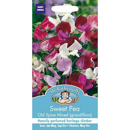Image for Sweet Pea Old Spice Mixed (Lathyrus Odoratus) Seeds from StoreName