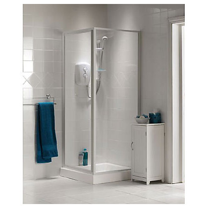 Image for Value Pivot Shower Enclosure and Tray - 760 x 760mm from StoreName