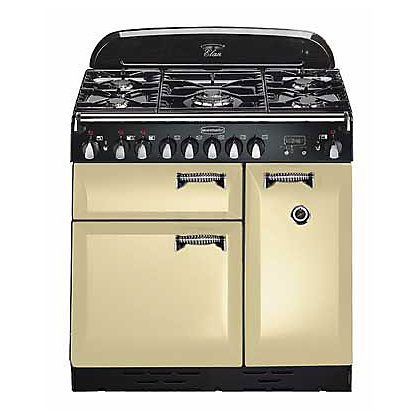 Image for Rangemaster Elan 72920 90cm Dual Fuel Cooker - Cream & Chrome from StoreName