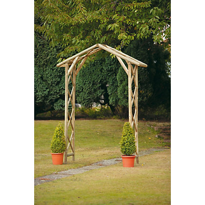 Image for Forest Honeysuckle Golden Garden Arch from StoreName
