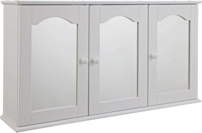 tongue and groove 2 door wooden bathroom cabinet white 777457