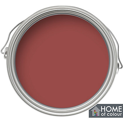 Image for Home of Colour Moroccan Red - Quick Drying Satin Paint - 750ml from StoreName