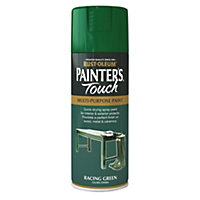Rust-Oleum Gloss Spray Paint - Racing Green - 400ml