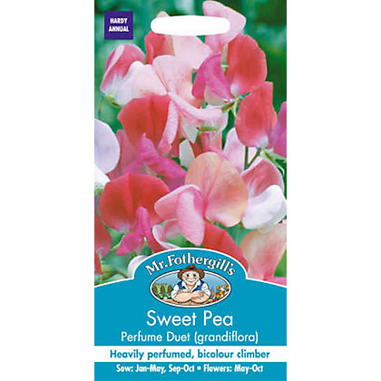 Image for Sweet Pea Perfume Duet (Lathyrus Odoratus) Seeds from StoreName