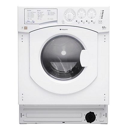 Image for Hotpoint BHWM1292 Integrated Washing Machine - White from StoreName