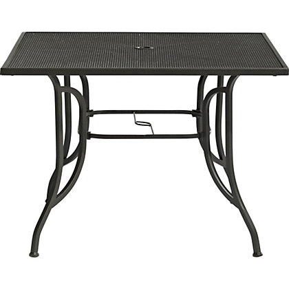 Image for Rimini Rectangular 4 Seater Metal Table from StoreName