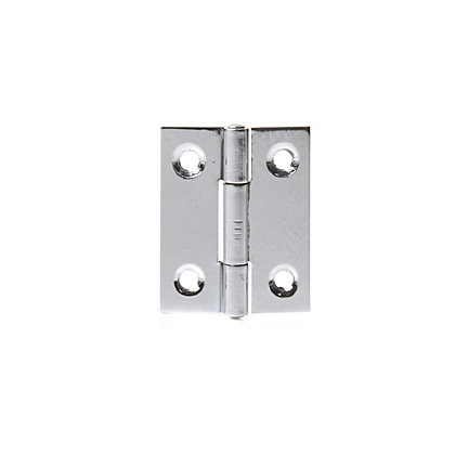 Image for Butt Hinge Chrome Plated - 50mm - Pack of 2 from StoreName