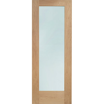 Image for Shaker Lite Double Glazed Oak External Door - 838mm Wide from StoreName
