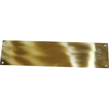 Image for HB Finger Plate Victorian - Polished Brass - 1 Piece from StoreName