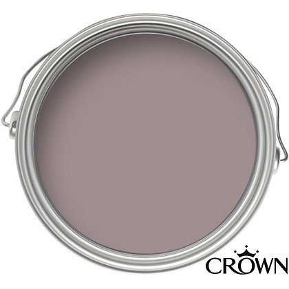 Image for Crown Fashion For Walls Plum Suede - Suede Matt Emulsion Paint - 125ml Tester from StoreName