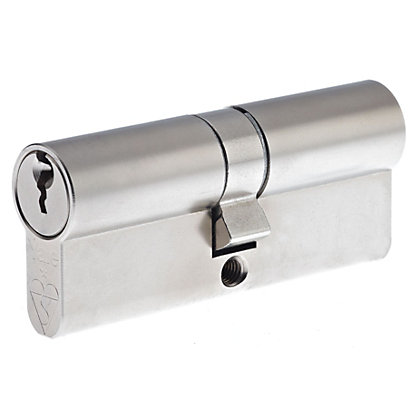 Image for Yale Kitemarked Euro Double Cylinder - 30:10:30 (70mm) - Nickel Finish from StoreName