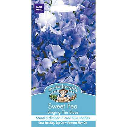 Image for Sweet Pea Singing The Blues (Lathyrus Odoratus) Seeds from StoreName