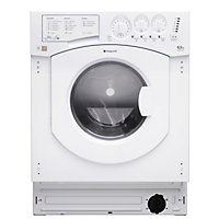 Hotpoint Aquarius BHWD 129 /1 Built-in Washer Dryer - White