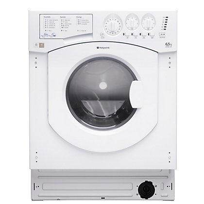 Image for Hotpoint Aquarius BHWD 129 /1 Built-in Washer Dryer - White from StoreName