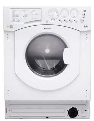 Image of Hotpoint BHWD129 Built In Washer Dryer