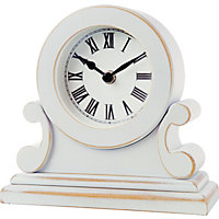 Home of Style Clock - White