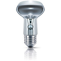 Homebase Spotlight R80 Bulb 100w ES - 2 Pack