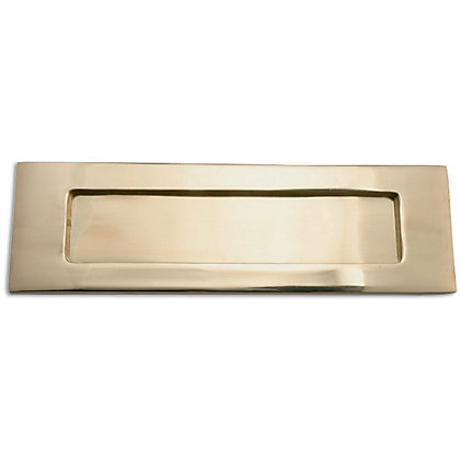 Image for Victorian Letter Plate - Brass Finish from StoreName