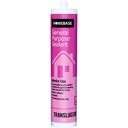Image for Homebase General Purpose Acrylic Sealant - Transparent from StoreName