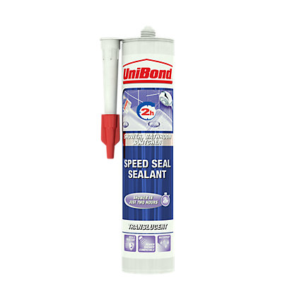 Image for UniBond Speed Seal Cartridge White - 300ml from StoreName