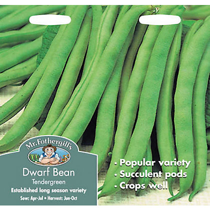 Image for Dwarf Bean Tendergreen (Phaseolus Vulgaris) Seeds from StoreName