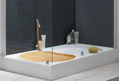 Sale On Aqualux Sapphire Walk In Shower Tray 1400 X 800mm Specials Now Available Our Best