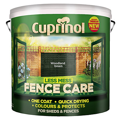 Image for Cuprinol Fencecare - Woodland Green - 9L from StoreName
