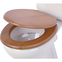 Natural Toilet Seat - Pine Effect