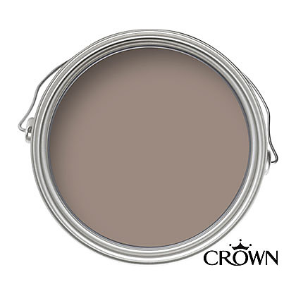 Image for Crown Fashion For Walls Chocolate Suede - Suede Matt Emulsion Paint - 125ml Tester from StoreName